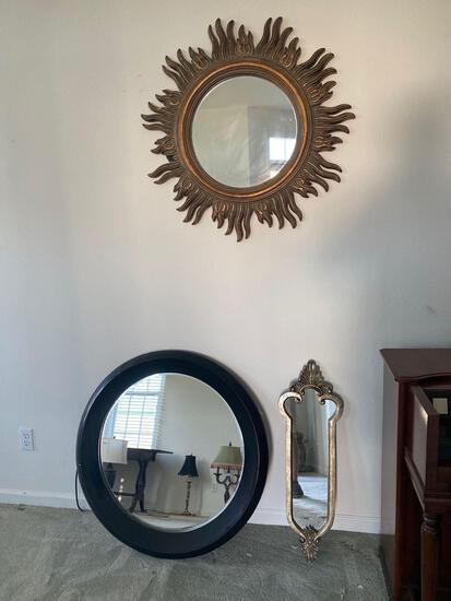 LR- Lot of (3) Mirrors