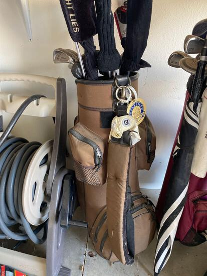 G- Set of Golf Clubs with Balls