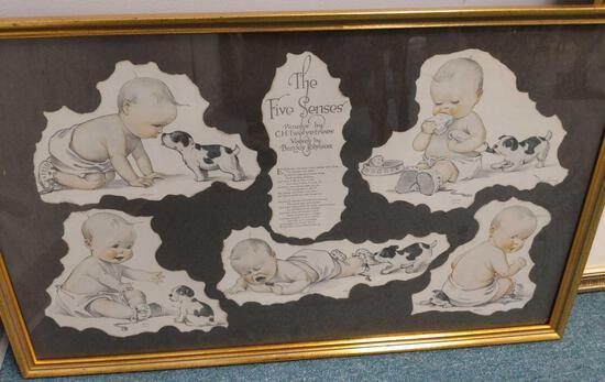 R1- Lot of (4) Little Girl / Baby Prints