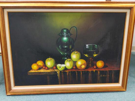 R1- Large Apple, Orange, Cherry Art