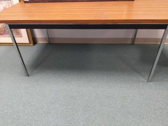 R1- Formica Top Table