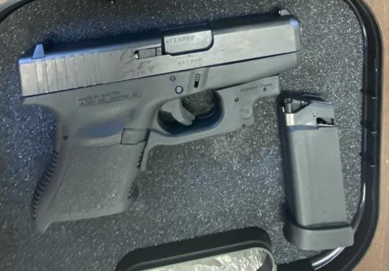 Glock model 36 45 ACP auto