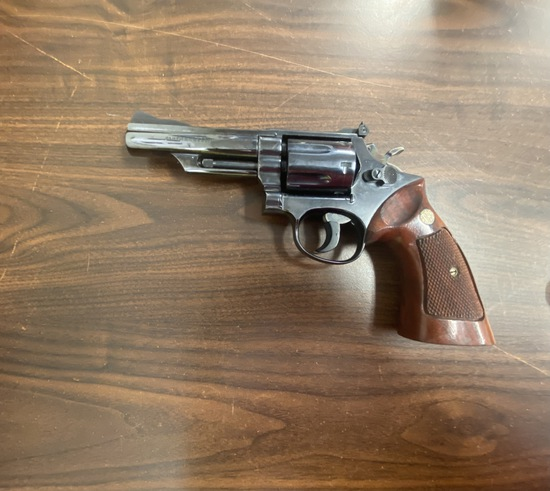 Smith and Wesson 4 Inch Blue Steel 357