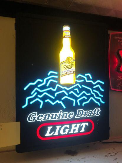 Base- Genuine Draft Light Lighted Sign