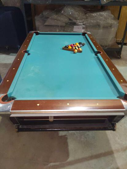 S- Empress Ninety Two Coin Operated Pool Table