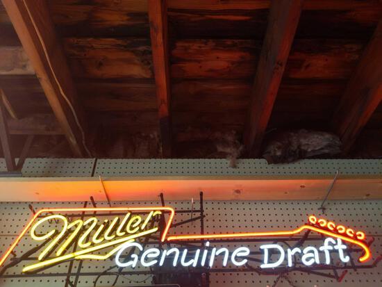 G- Milller Neon Sign