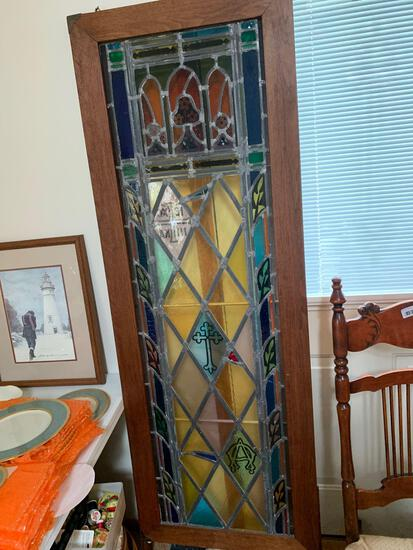 LR- Stained Glass Window