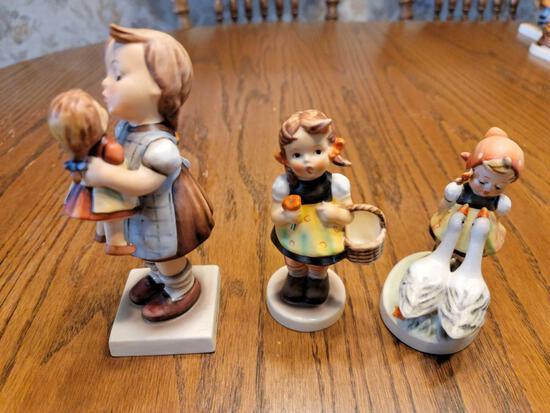 """FR- Hummels """"Kiss Me"""", """"Girl with Basket"""", """"Goose Girl"""""""