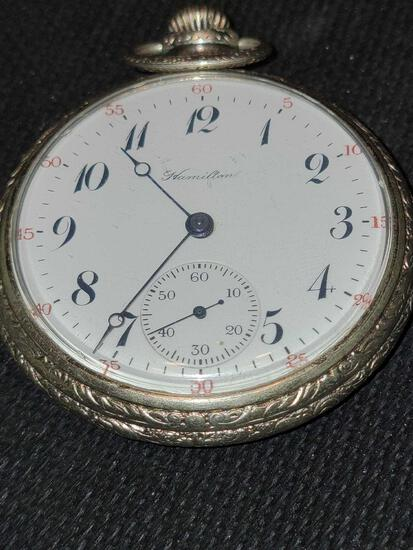 FR- Hamilton Pocket Watch