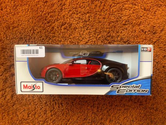 B3- Bugatti Chiron Sport Maisto Diecast Car