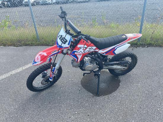 2020 Red/White Taotao Apollo Motorcycle