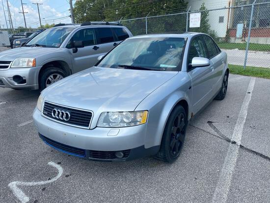 2002 Silver Audi A4