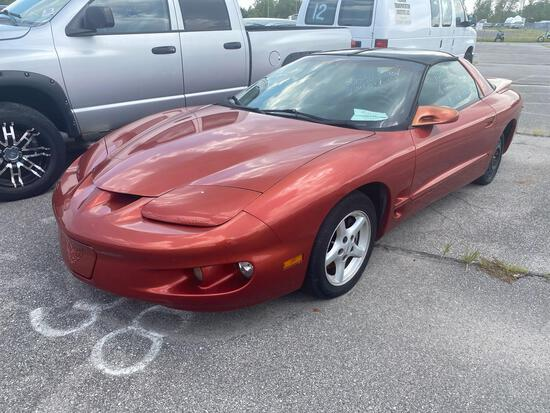 2002 Orange Pontiac Firebird