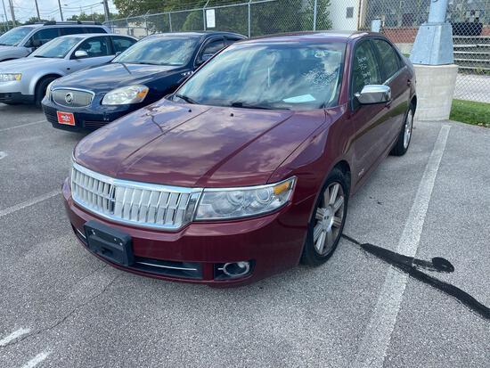 2007 Maroon Lincoln MKZ