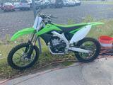 2011 Green Kawasaki KX450F Motorcycle