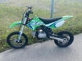 2020 White/Green APSP Motorcycle