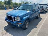 2003 Blue Jeep Liberty
