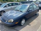 1998 Blue Ford Taurus