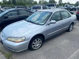 2002 Silver Honda Accord