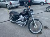 1998 Black Harley-Davidson XL 1200C Motorcycle