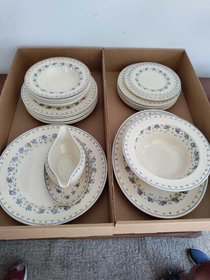 G1- Assorted Vintage Sunny Brook Dinnerware