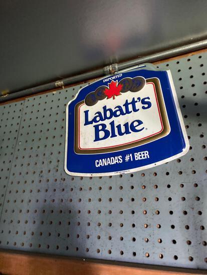 G- Labatt's Blue Sign