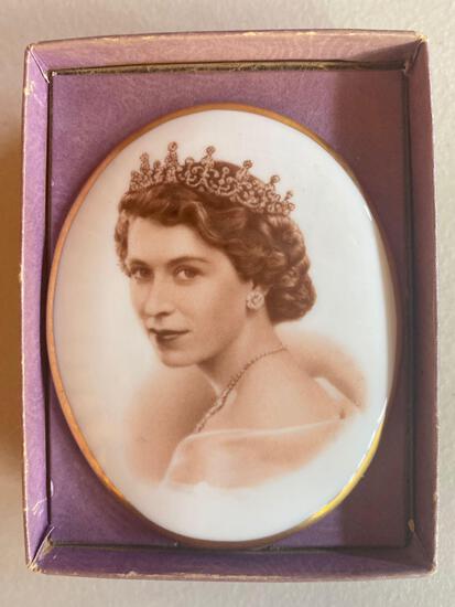 O- H.M. Queen Elizabeth II