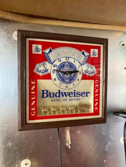 G- Budweiser Clock