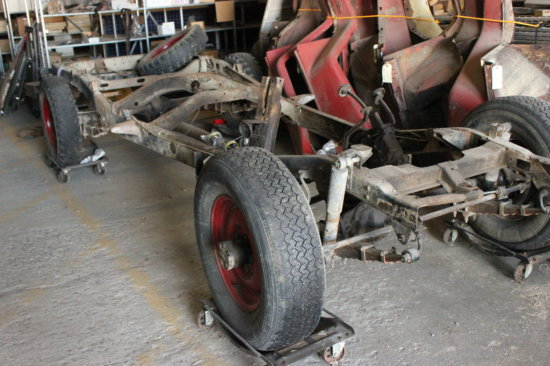 Rolling Frame For Jeep
