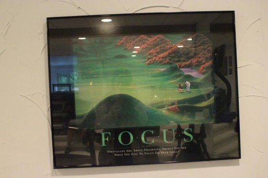 (3) Golf Themed Prints & (2) Misc. Prints