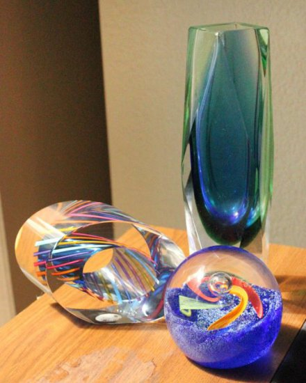 Murano, Caithness, & Paul Harrie Glass Art Paperweights