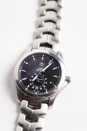 tag heuer link automatic 200 meters sapphire crystal