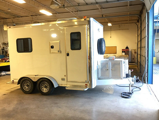 (Muenster, TX) 2016 ATC T/A Enclosed Fiber Optic Splicer Trailer