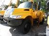 IMT 5200, Hydraulic Knuckle Boom Crane mounted behind cab on 2007 International 4300 URD/Flatbed Tru