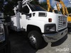 Telsta T40C, Telescopic Non-Insulated Cable Placing Bucket Truck rear mounted on 2006 GMC C6500 Flat