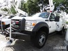 Altec AT37G, Articulating & Telescopic Bucket Truck mounted behind cab on 2012 Ford F550 Service Tru