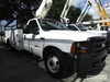 Versalift TEL29N, Telescopic Non-Insulated Bucket Truck mounted behind cab on 2007 Ford F350 Service