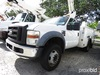 Altec AT37G, Articulating & Telescopic Bucket Truck mounted behind cab on 2008 Ford F550 Service Tru