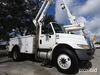 Altec TA40, Articulating & Telescopic Bucket Truck mounted behind cab on 2009 International 4300 Uti