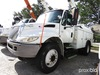 Altec L42A, Over-Center Bucket Truck center mounted on 2006 International 4300 Hybrid Utility Truck