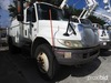 Altec L42A, Over-Center Bucket Truck center mounted on 2006 International 4300 Utility Truck