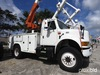 Altec L42A, Over-Center Bucket Truck center mounted on 2000 International 4800 4x4 Utility Truck