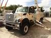 Altec AH75, Articulating & Telescopic Material Handling Bucket Truck rear mounted on 2009 Internatio