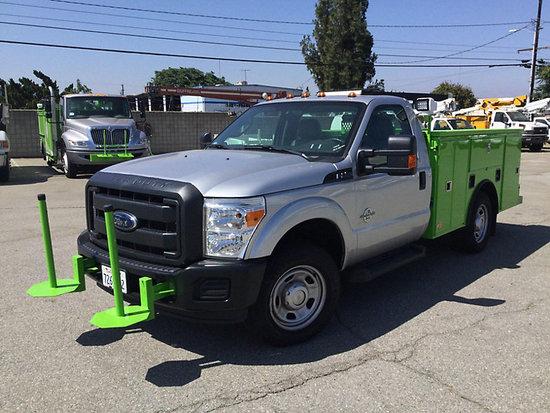 (Pomona, CA) 2016 Ford F350 Service Truck runs and drives