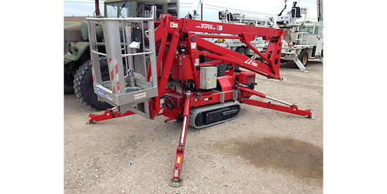(Lewis Center, OH) 2007 Teupen Hy-Lift LEO 15-GT Runs and operates.