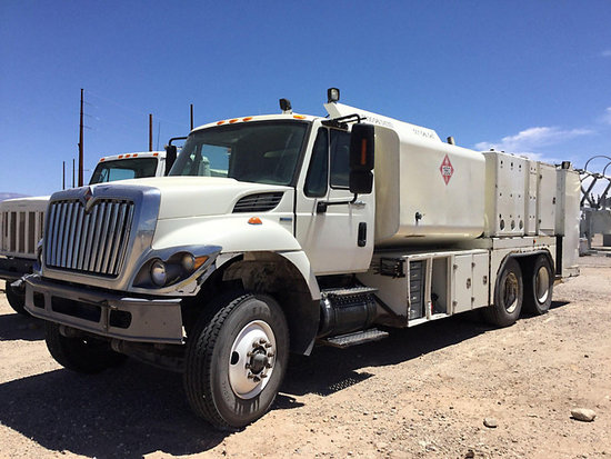 (Tucson, AZ) 2008 International 7500 T/A Fuel/Lube Truck Engine turns over but wouldn't start suspec