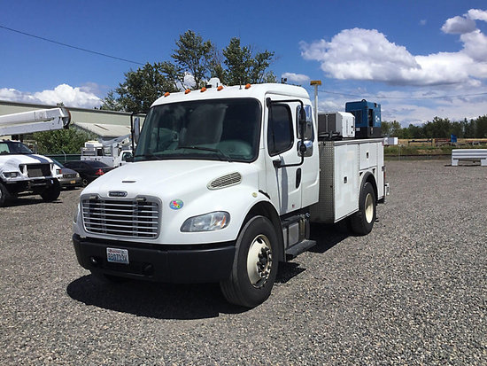 (Portland, OR) 2013 Freightliner M2 106 Extended-Cab Mechanics Service Truck Starts, runs & operates