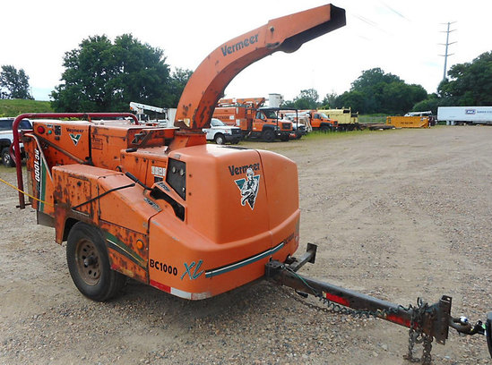 Shako, MN) 2008 Vermeer BC1000XL Chipper (12