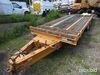 2010 Hudson HTD20A 20-Ton Tilt-Deck T/A Tagalong Utility Trailer