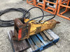 (Chicopee, MA) Indeco HP1100 Hydraulic Vibratory Breaker / Hammer for excavator condition unknown